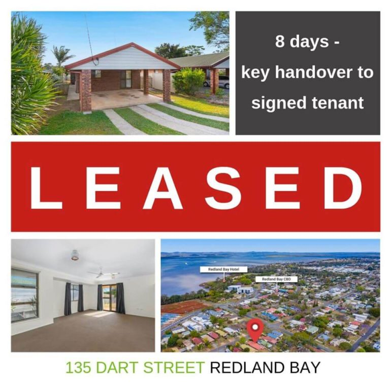 Kylie Scott Real Estate at Cleveland - Another Property Leased - Redland Bay