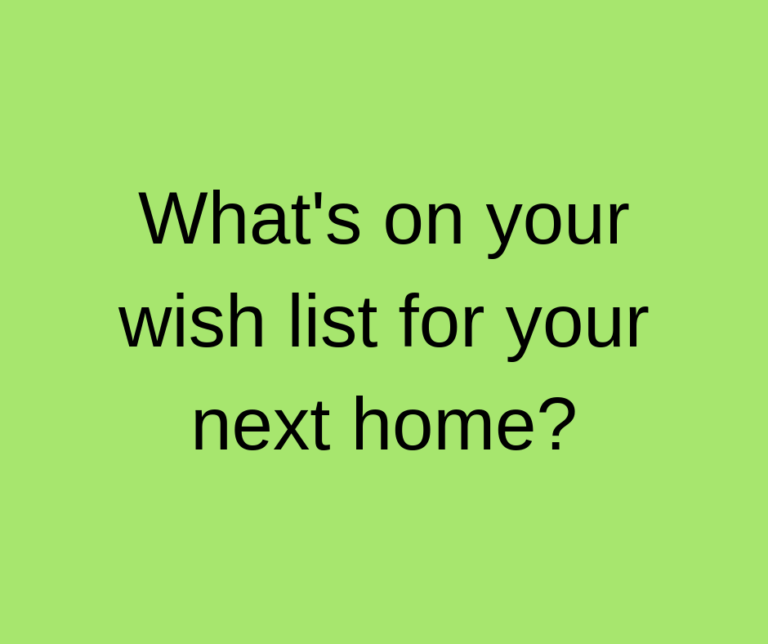 Have you got a wish list for your next home? Yes! See Kylie Scott Real Estate, Cleveland