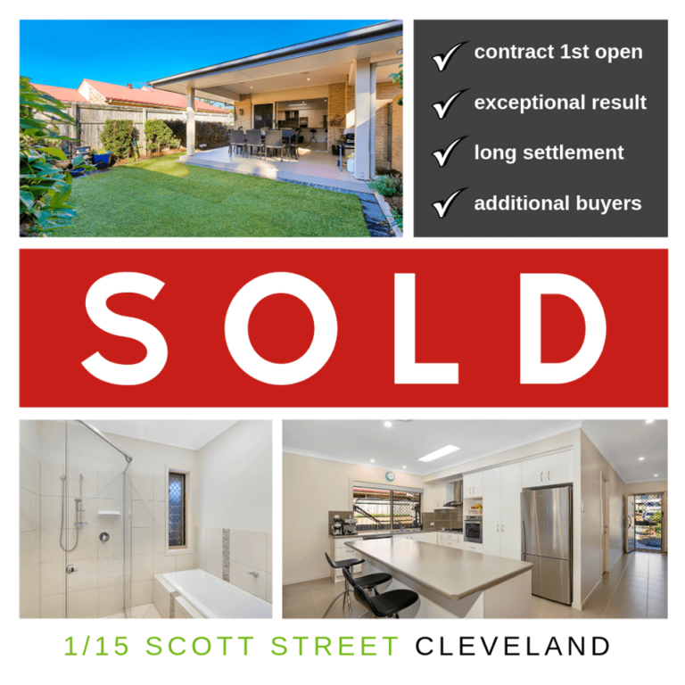 Kylie Scott Real Estate at Cleveland - Another Property Sold Cleveland