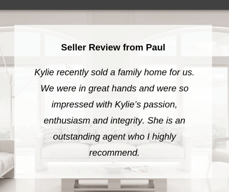Seller Review for Kylie Scott Real Estate, Cleveland