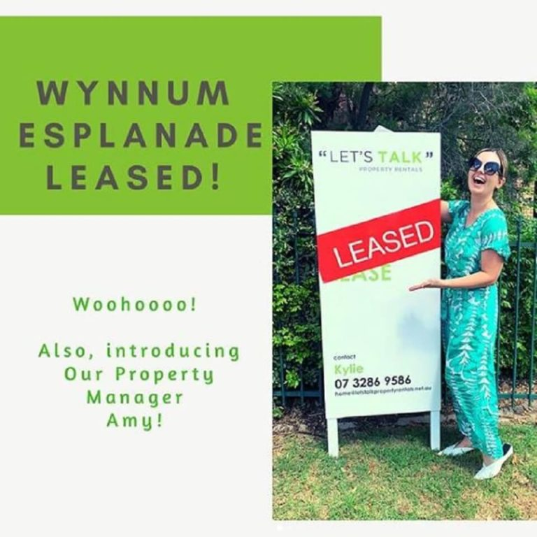 Leased in 6 days by Amy - Property Manager - Kylie Scott Real Estate, Cleveland - Lets Talk Property Rentals